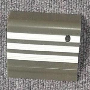 step nosing tangga karet abu-abu garis putih