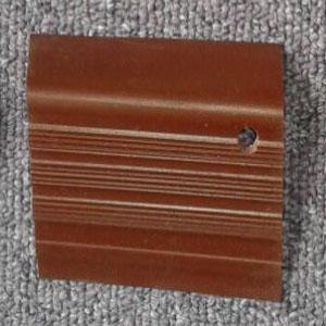 step nosing tangga karet coklat polos