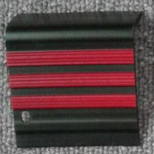 step nosing tangga karet hitam garis merah