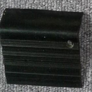 step nosing tangg karet hitam polos